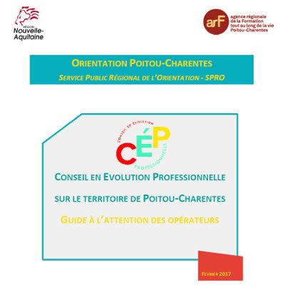 Actualisation du guide des opérateurs du CEP