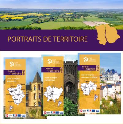 Portraits statistiques des zones d'emploi de Thouars-Loudun, Parthenay et Bressuire