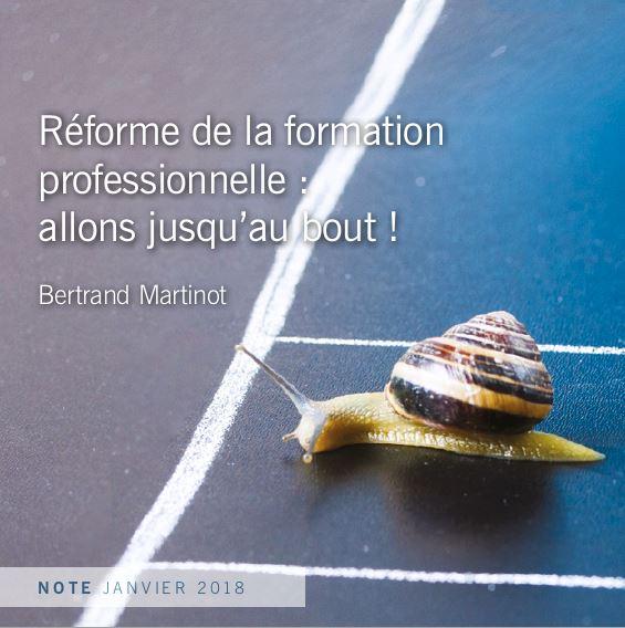 Les 12 propositions de l'Institut Montaigne pour bien réformer la formation