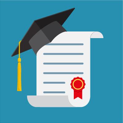 Acquisition des blocs de compétences de cinq diplômes professionnels de l'Education nationale