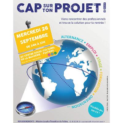 Forum « Cap sur ton projet ! » à Poitiers