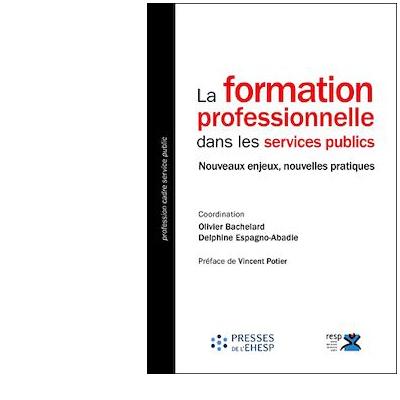 """C@pLibris : ebook """"La formation professionnelle dans les services publics"""""""