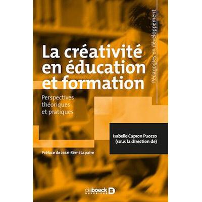 """C@plibris : """"La créativité en éducation et formation"""""""