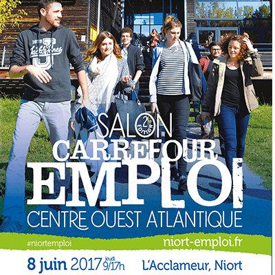 2ème édition du Carrefour Emploi Centre Ouest Atlantique à Niort