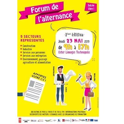 Forum de l'Alternance à Limoges