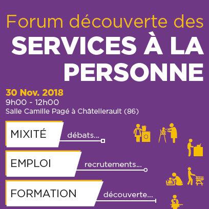 Forum découverte des services à la personne à Châtelerault