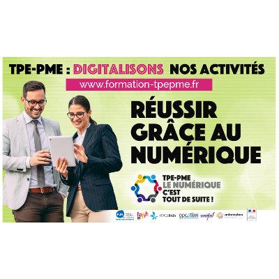 Mooc sur la transformation numérique des TPE-PME