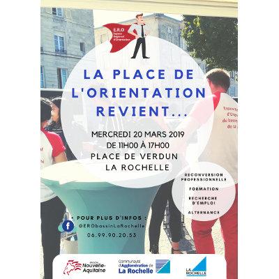 2ème édition de la place de l'orientation à La Rochelle