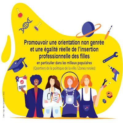 Pour une orientation non genrée et une égalité réelle de l'insertion professionnelle des filles
