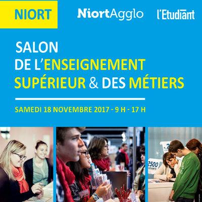 Salon de l'enseignement supérieur & des métiers à Niort
