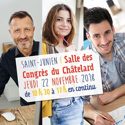 Troisième édition de la Cité des métiers éphémère à Saint-Junien
