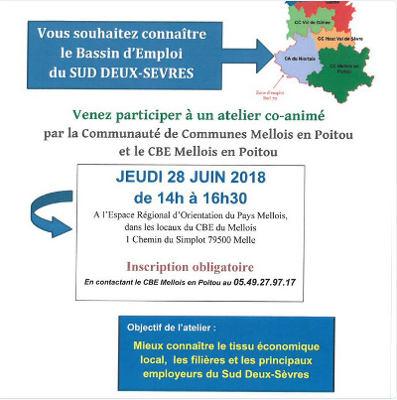 Mieux connaître le tissu économique du sud Deux-Sèvres