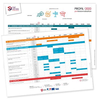 Accédez au calendrier 2020 du programme de professionnalisation