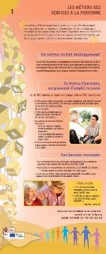 Expo : Les métiers des services à la personne (exemplaire n°2)