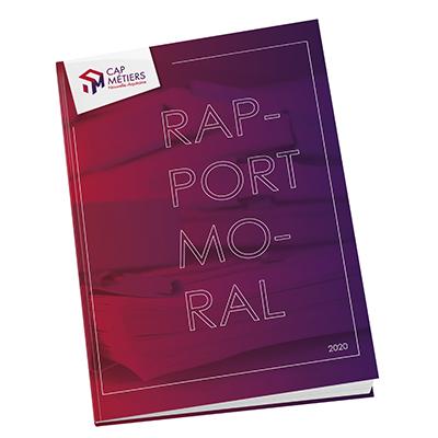 Rapport moral 2020 de Cap Métiers