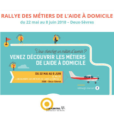 Rallye des métiers de l'aide à domicile en Deux-Sèvres