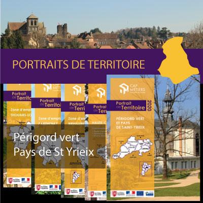 Un portrait statistique du territoire du Périgord vert-Pays de Saint Yrieix