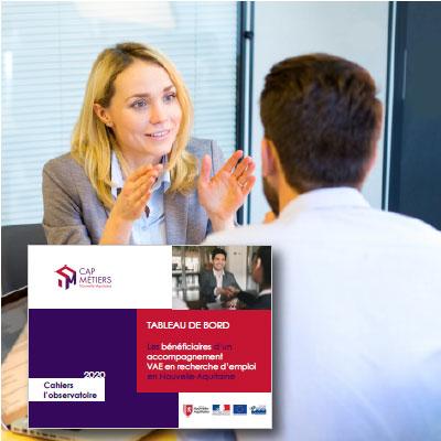 Les bénéficiaires d'un accompagnement VAE en recherche d'emploi en Nouvelle-Aquitaine