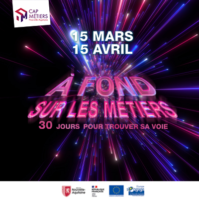 """""""A fond sur les métiers"""" : un événement 100% digital imaginé par Cap Métiers"""