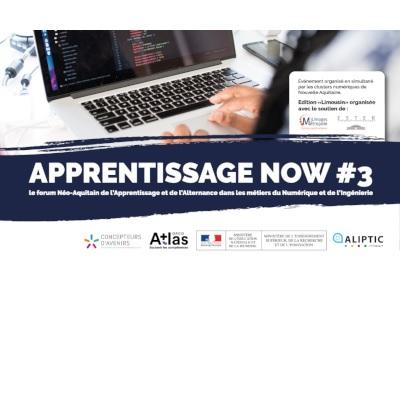 Apprentissage Now : forum sur les métiers du numérique, le 26 mai