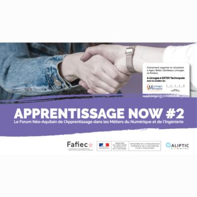 Apprentissage Now #2, le Forum Néo-Aquitain de l'Apprentissage des Métiers du Numérique à Agen