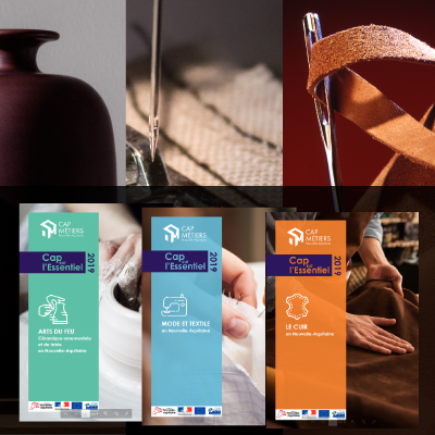 Trois nouvelles études sur les secteurs cuir, mode textile et céramique en Nouvelle-Aquitaine