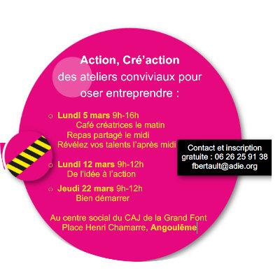 Sensibilisation à l'entrepreneuriat à Angoulême