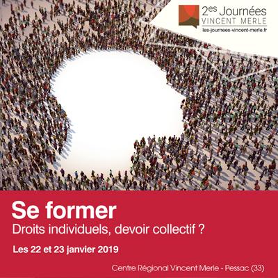 2es Journées Vincent Merle, les 22 et 23 janvier 2019 à Pessac