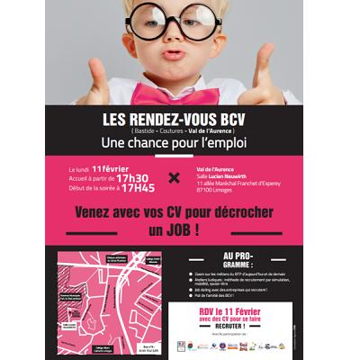 8ème édition des rendez-vous BCV (Val de l'Aurence), une chance pour l'emploi