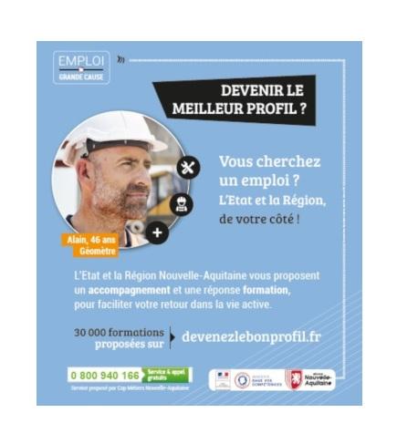 Grande Cause Emploi : la Région et Cap Métiers se mobilisent