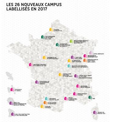 Un nouveau Campus des métiers et des qualifications labellisé en région