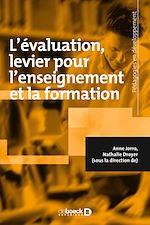 """C@plibris : ebook """"L'évaluation, levier pour l'enseignement et la formation"""""""