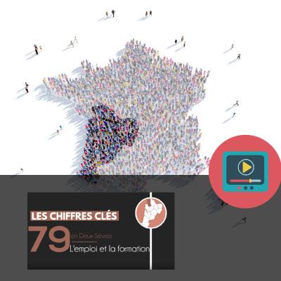 Les chiffres clés de l'emploi et de la formation dans les Deux-Sèvres