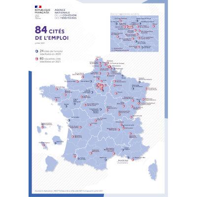 6 Cités de l'emploi en Nouvelle-Aquitaine
