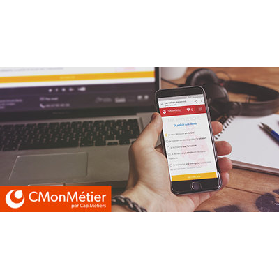« CMonMétier », le nouvel outil pour approfondir sa découverte des métiers