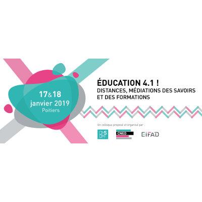 Colloque à Poitiers sur l'éducation 4.1