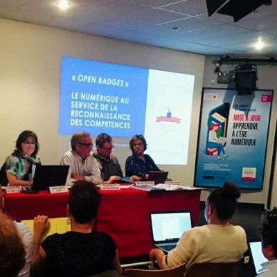 Les experts des badges numériques se rencontrent à Poitiers