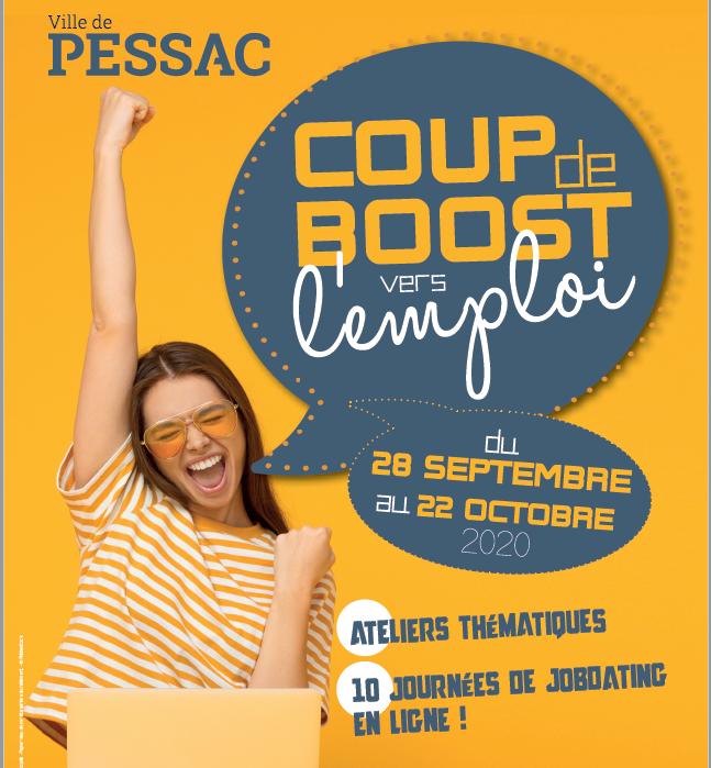 Du 28 septembre au 15 octobre, Coup de boost vers l'emploi à Pessac (33)
