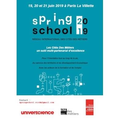 SpringSchool 2019 du réseau Cité des métiers