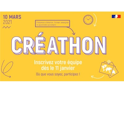 Créathon 2021 - Présence à distance : former, enseigner et apprendre autrement