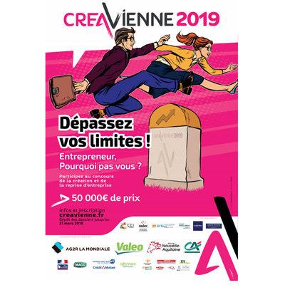 Création d'entreprise : 12ème édition du concours Créavienne