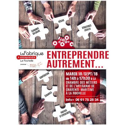 """Forum """"Entreprendre autrement"""" à La Rochelle"""