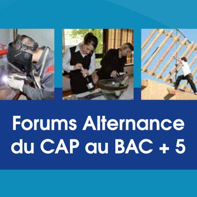 Forums régionaux sur l'alternance : du CAP au Bac + 5