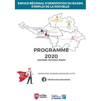 ERO du bassin d'emploi de La Rochelle : programme du 1er trimestre 2020