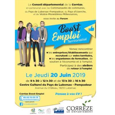 Forum BOOST Emploi à Lubersac