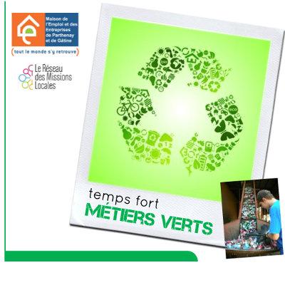 Temps fort sur les métiers du recyclage à Parthenay