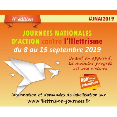 #JNAI2019 : ouverture des labellisations des structures qui luttent contre l'illettrisme