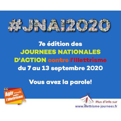 7ème édition des Journées Nationales d'Action contre l'Illettrisme (JNAI)