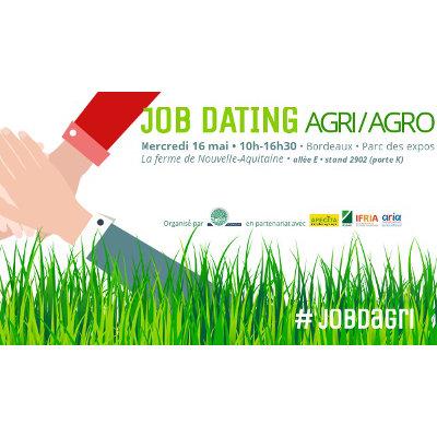 Job Dating Agri/Agro à Bordeaux