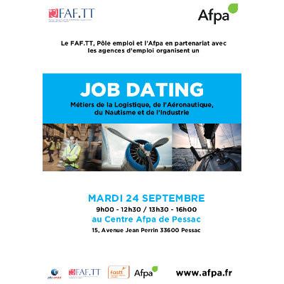 Job Dating à Pessac : Métiers de la logistique, de l'aéronautique, du nautisme et de l'industrie